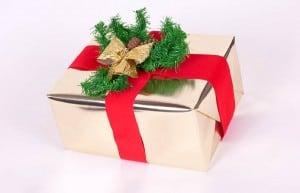 elegantly wrapped gift 0001