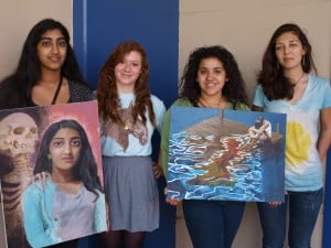 AVPA Art Students Win Key Awards