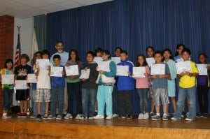 Linwood Howe Honors Prime Number-Students