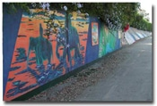 """Rivers of the World"" Live Art Event to Restore Culver City Murals"