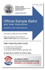 Voting Info for Culver City – Frances Talbott-White