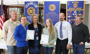 Exchange Club Honors Youth Of the Month