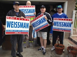 Weissman Fundraiser at Culver Studios Feb. 25