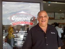 Lunch is Served – Capriotti's is Open – CCFoodie