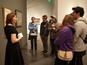 "LACMA Gets AVPA Interns ""In Wonderland"" – Azalie Welsh"