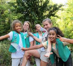 Who Wants to Grow Up to Be a Leader ? Girl Scout Information Day !