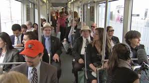 Trains Lead the Boom in Public Transit