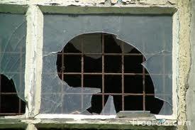 Crime Blotter – Broken Window