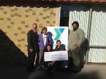YMCA Gets Donation from Edison