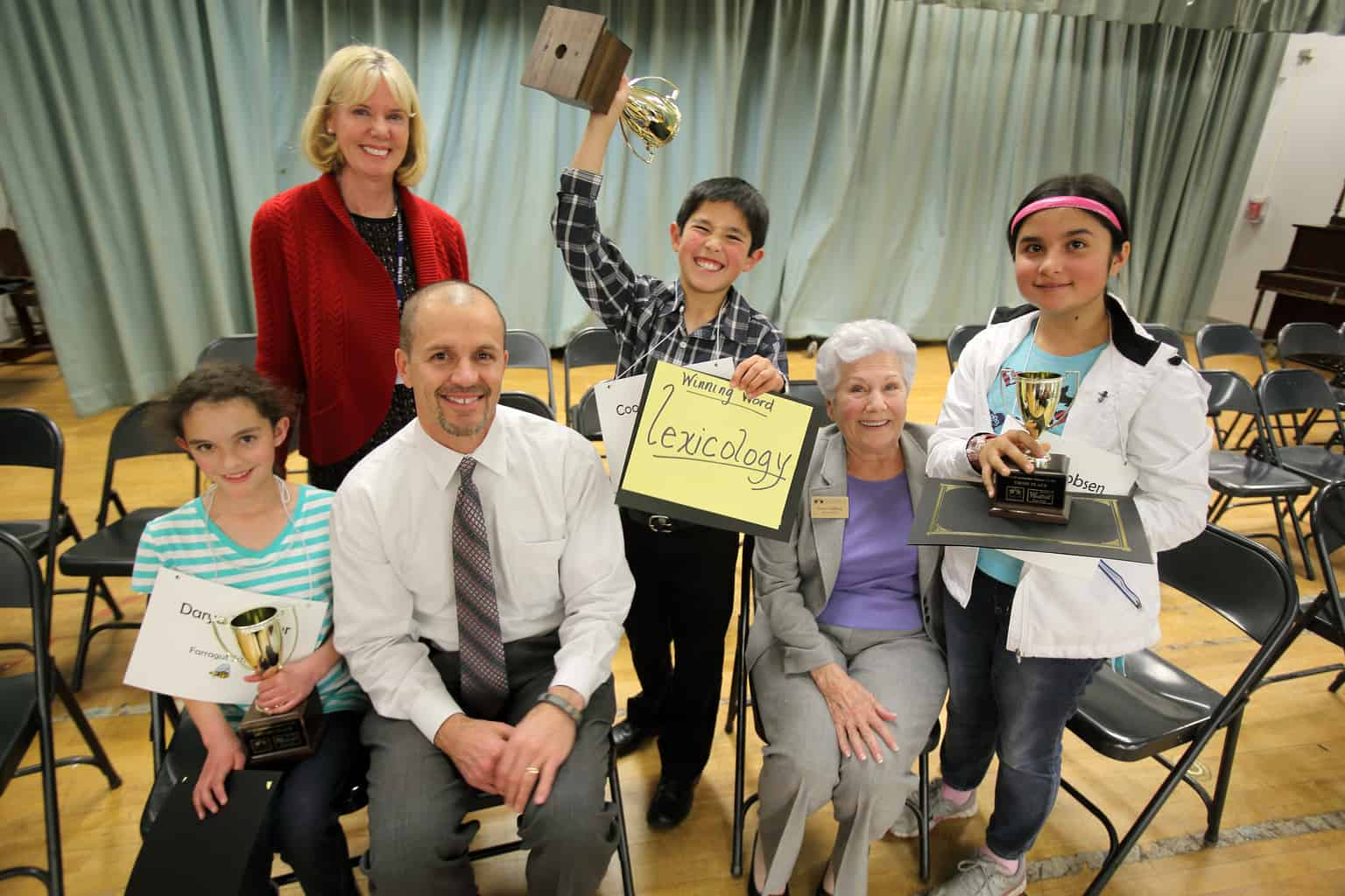 Spelling Bee Champ Komatsu Will Advance To County Competition