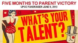 """Five Months to Parent Victory"" – Talent Show and Fundraiser"