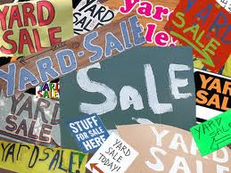 "CCMS ""Yard Sale"" Fundraiser – May 18"