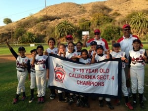 Culver City Little League Softball 9-10 Year Old All-Stars Crowned Section 4 Champions
