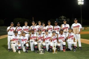 Westchester Babe Ruth Wins Pacific Southwest Regional