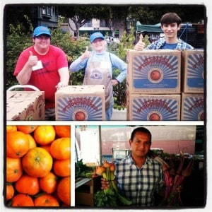 Food Forward and CC Farmers Market Partner to Feed the Hungry and Reduce Waste