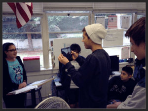 Young Movie Makers Inspire Creation for CCMS Students