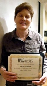 Halo Award for Youth Health Center President
