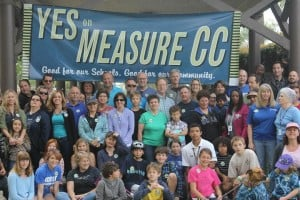 Measure CC Supporters Rally for School Bond