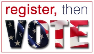 Today is the Day – May 19 Voter Reg Deadline