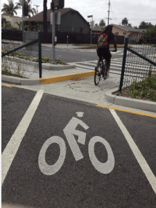 Expo Bike Path Improvements Continue