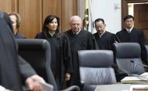California Supreme Court  justices