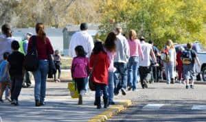 Sneakers Ready?  Oct. 8 is International Walk to School Day