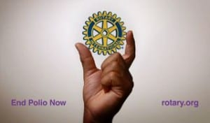 CC Rotary Commemorates World Polio Day – Oct. 24