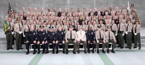 Sherriff's Dept. Graduates Officers