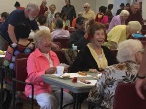 Lions Club Hosted Thanksgiving Dinner @ Senior Center