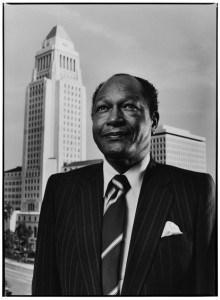 Los Angeles Mayor Tom Bradley Portrait Session