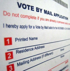 Vote by Mail Application Window Opening for March 3 Primary Ballots
