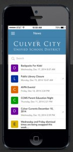 CCUSD Launches App – Get Connnected