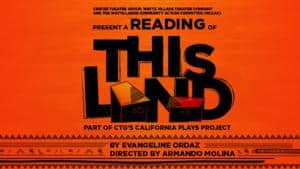 "DouglasPlus to Offer ""This Land"" Feb. 28 @ WLCAC"