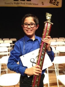 Komatsu Heads to National Spelling Bee