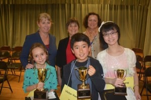 Camille Cosato Reigns as CCUSD Spelling Bee Champ; Advances to County Competition