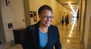 Congresswoman Karen Bass to Discuss Authorizing Military Force Tonight at Senior Center