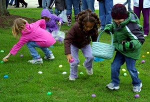 Egg Hunt and Family Fun This Saturday @ Vets Park