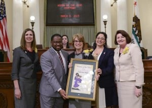 "Unger Honored at 54th District ""Woman of the Year"""
