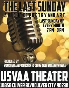 USVAA's 'Last Sunday' Art & Poetry – April 26