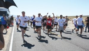 CCPD Sets New Record for Baker to Vegas Run