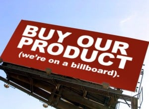 Just a Thought  – Billboards Are a Big, Bad Blight (Click Here and Say No Thanks)