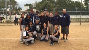 CCMS Girls Softball Takes the Championship