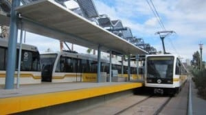 Metro Trains Changing Los Angeles County