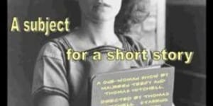 Subject for A Short Story @ Fanatic Salon Theater