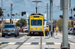 Expo Line Train Tests Successful in Santa Monica