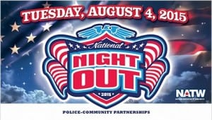 Save the Date – National Night Out August 4