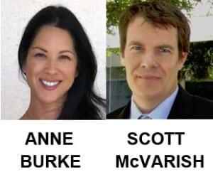 UPCC Endorses Burke & McVarish for School Board