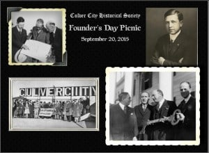 Culver City Historical Society to Launch 'Founder's Day Picnic'