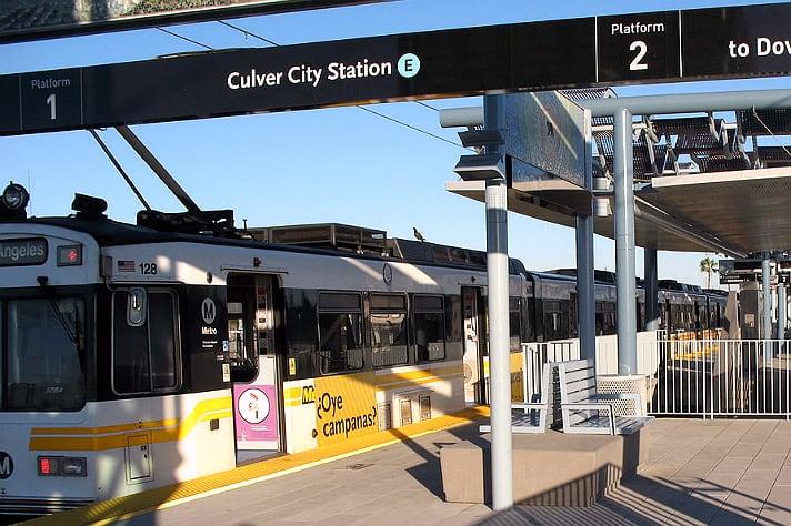 Culver City Expo Station to Close Oct  31 to Nov  1 | Culver City