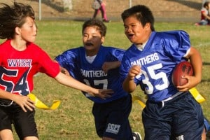 Panthers Flag Football Counts Another Win